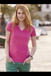 New Lady - Fit V-Neck T  61-382-0