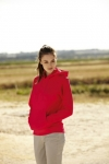 Lady - Fit Hooded Sweat  62-038-0