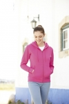 Lady - Fit Hooded Sweat Jacket  62-118-0