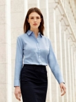 Lady - Fit Long Sleeve Oxford Shirt  65-002-0
