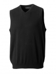 716 V-Neck Sleeveless Knitted Pullover